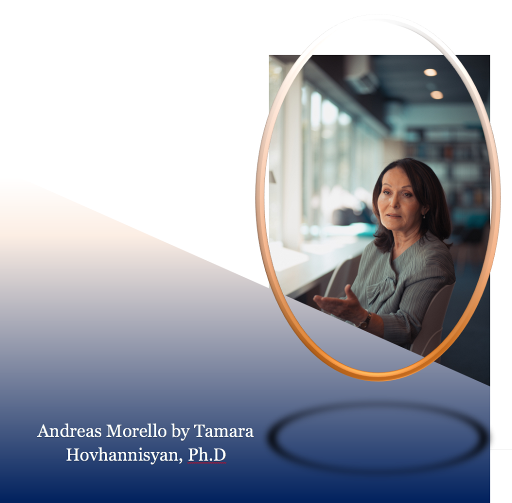 Observations on Lifespan and Creativity, The Life of Andreas Morello by Tamara Hovhannisyan, Ph.D