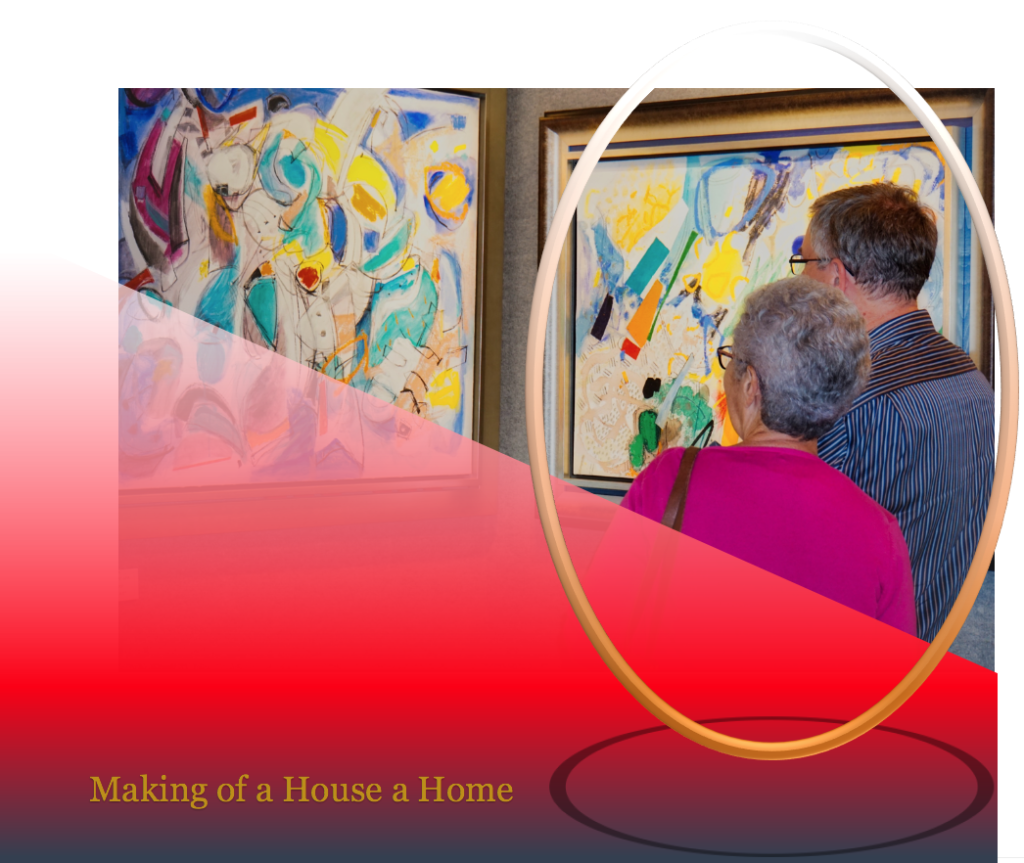 Making of a House a Home -Ann Wagner